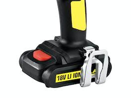Flash Cordless Drill Driver 18V 1.5Ah Battery