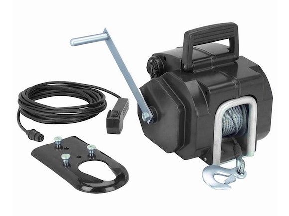 Electric Boat Winch 12V 3000lb with Remote