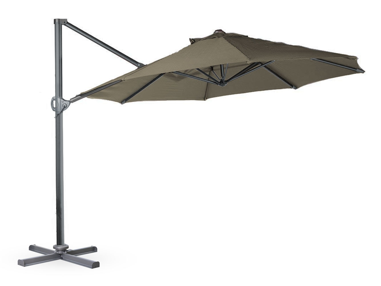 Cantilever Umbrella 3.3m Taupe