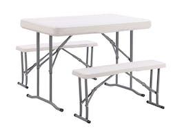 Folding Camp Table Set