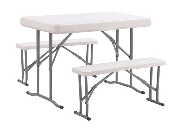 Folding Camp Table Set