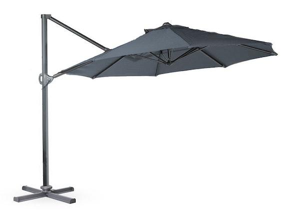 Cantilever Umbrella 3.3m Charcoal