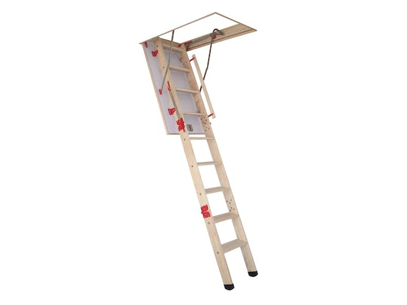 Attic Stairs Grand Wooden 2.2m - 3.0m