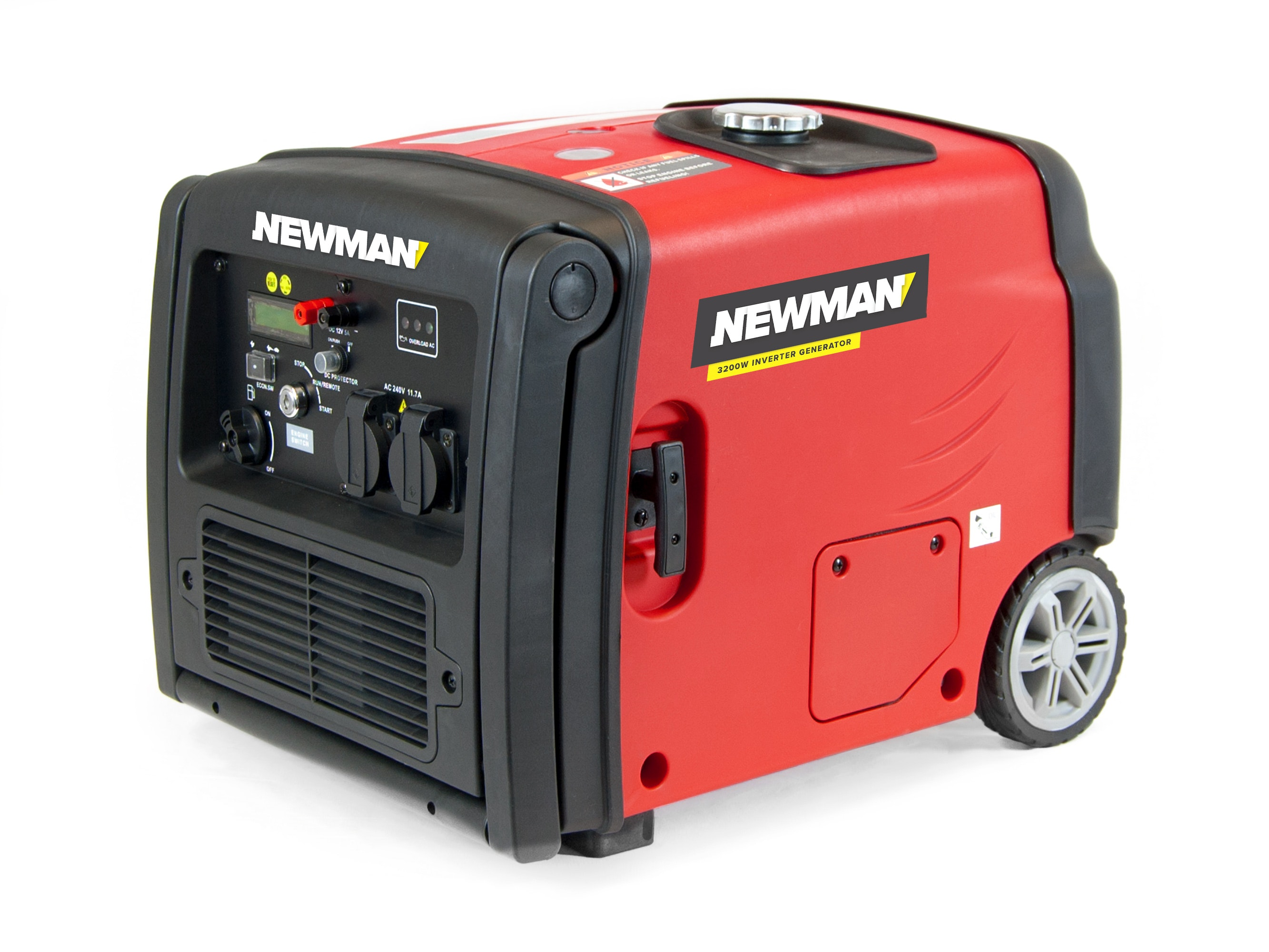 Newman Digital Inverter Generator 3200W with Electric Start
