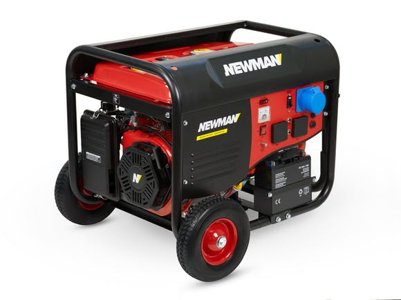 Newman Generator 6500W with Electric Start