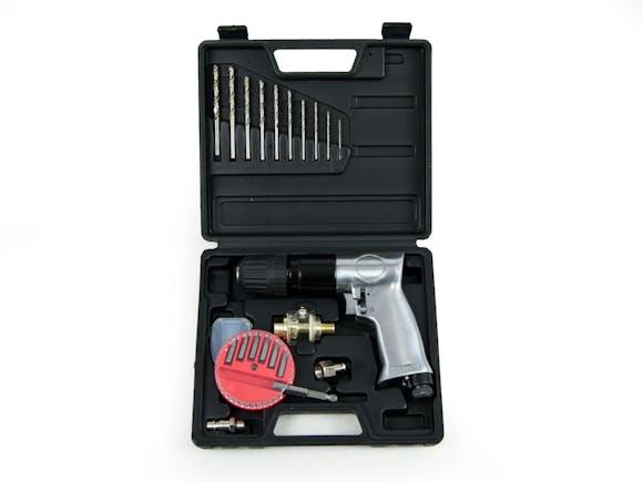 "Air Drill 3/8"" Kit 22 Piece"