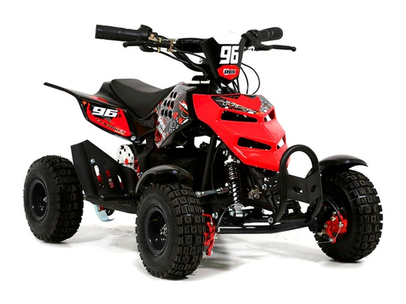 Kids Mini Quad Bike 800W Electric Red