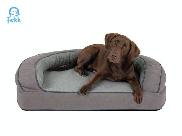 Fetch Orthopedic Memory Foam Sofa Dog Bed - LRG