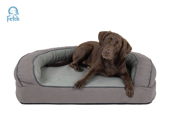 Fetch Orthopedic Memory Foam Sofa Dog Bed - LRG