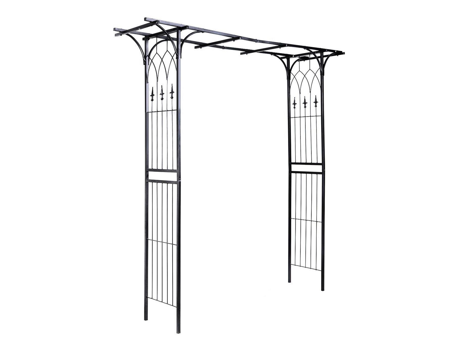 Garden Arch Steel Garda