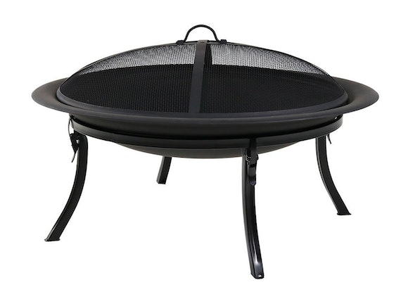 Portable Folding Fire Pit with Carry Bag
