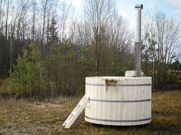 Wood Fired Hot Tub 1.8m