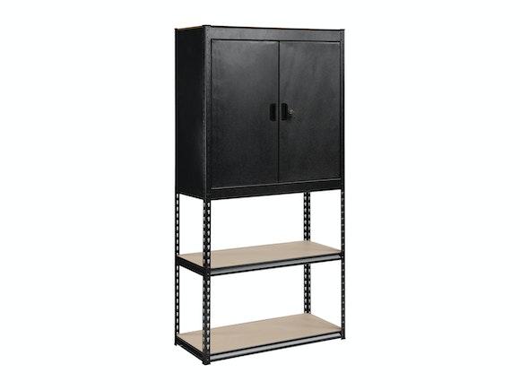 Storage Cabinet Shelf Combo