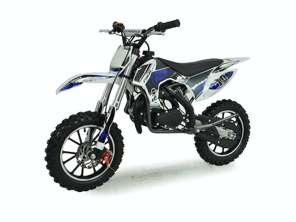 Kids Mini Dirt Bike 49cc Blue