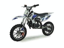 Kids Mini Dirt Bike 49cc Blue