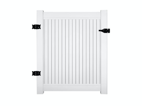 PVC Privacy Fence Gate Kit 1.8m