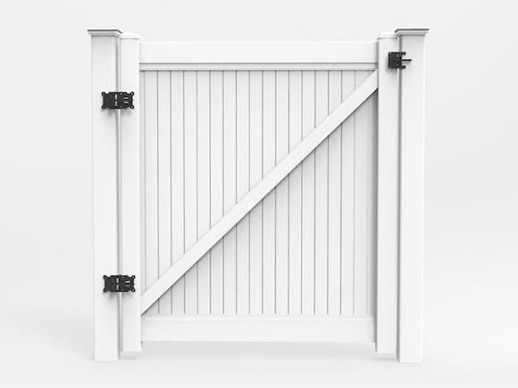 PVC Privacy Fence Gate Kit