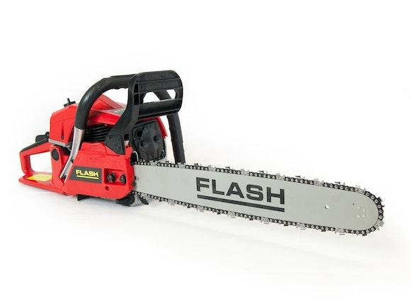 """Flash Chainsaw 62cc with 20"""" Bar"""