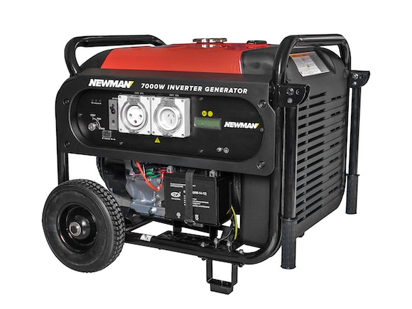 Newman Digital Inverter Generator 7000W with Electric Start