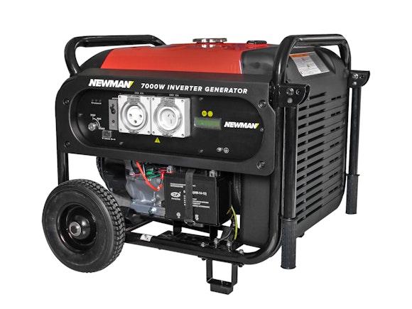 Newman Digital Inverter Generator 7000W with Electric Start