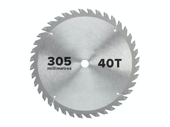 Flash Saw Blade Circular 305mm x 25.4mm