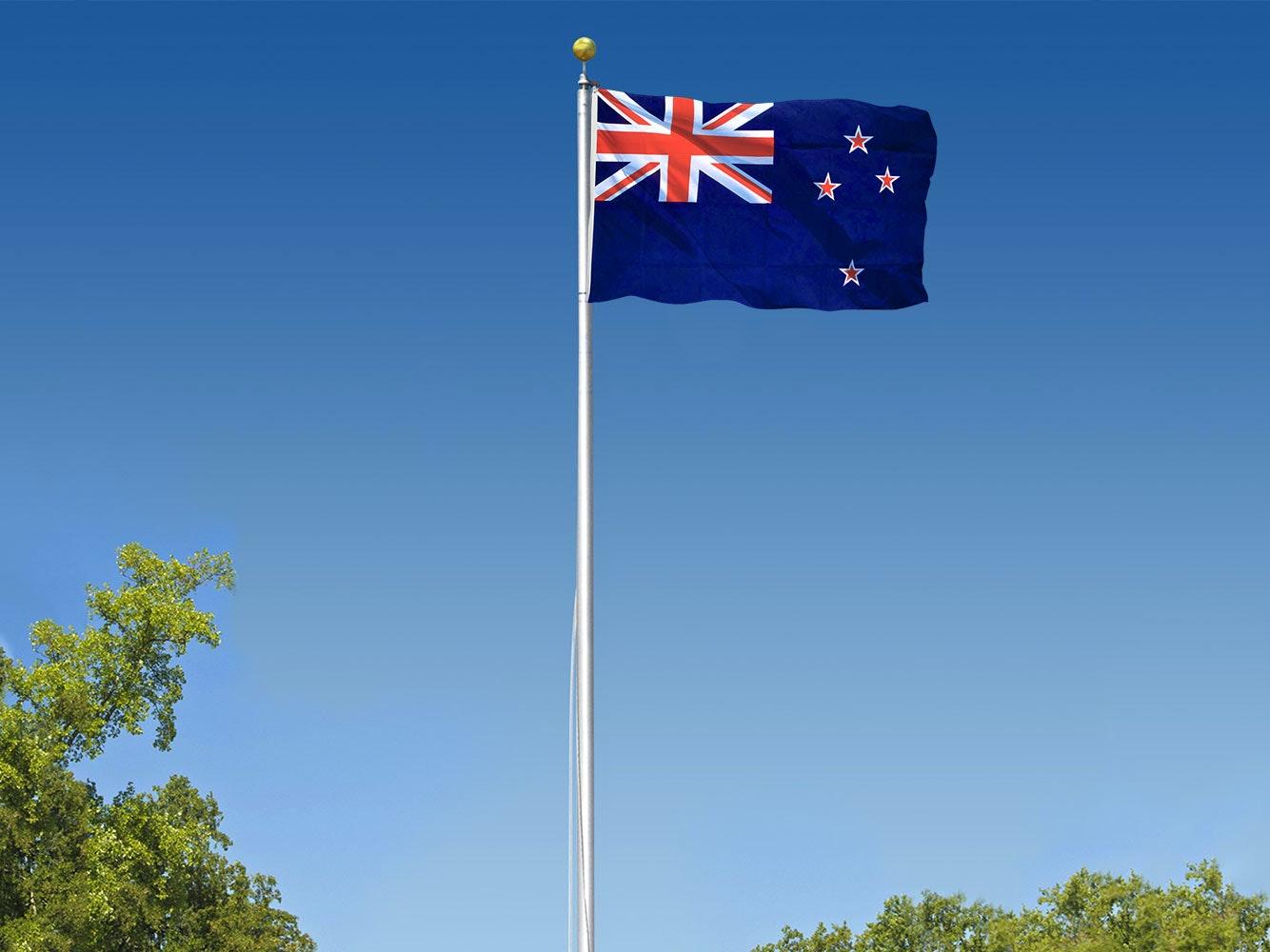 Flagpole Sectional 7.6m
