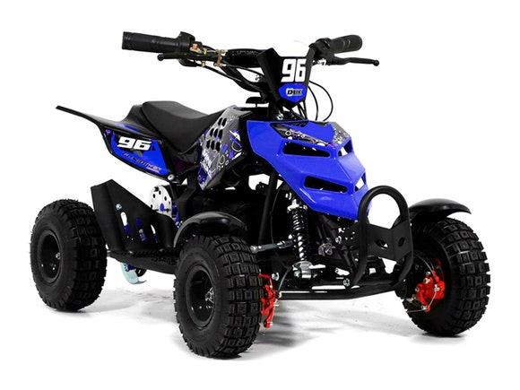Kids Mini Quad Bike 800W Electric Blue
