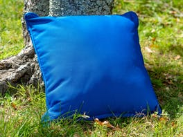 Outdoor Cushion Sunbrella Canvas Pacific Blue
