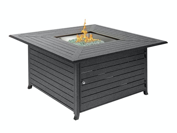 Hideaway Aluminium Gas Fire Pit Table