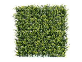 Artificial Hedge Wall Boxwood Spring Growth 3m²