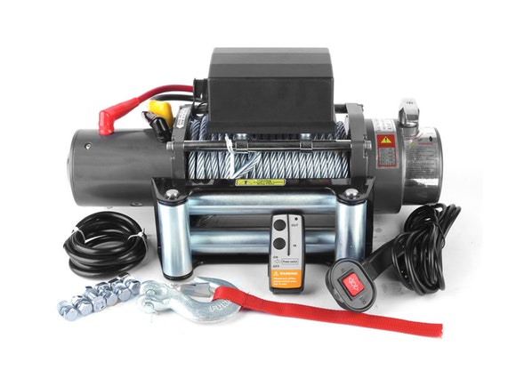 Electric Winch 12V 8000lb with Fairlead & Remote
