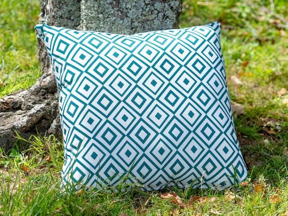 Outdoor Cushion Geo Green