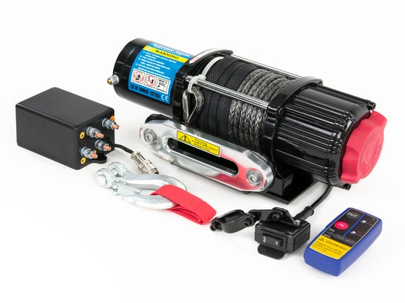 Electric Winch 12V 5000lb Dyneema
