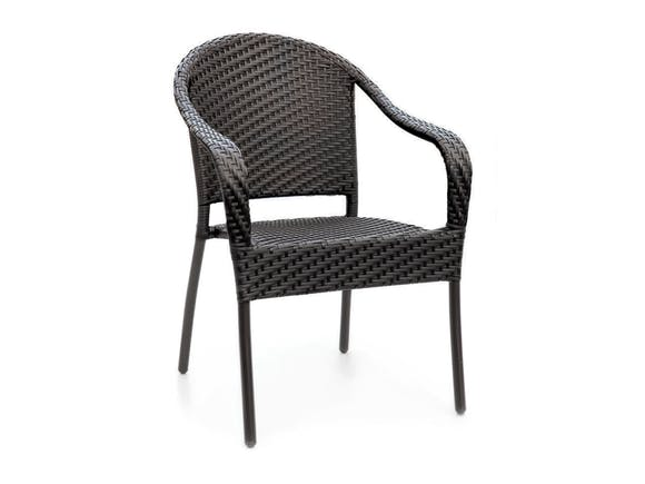 Cafe Curved Back Stacking Chair