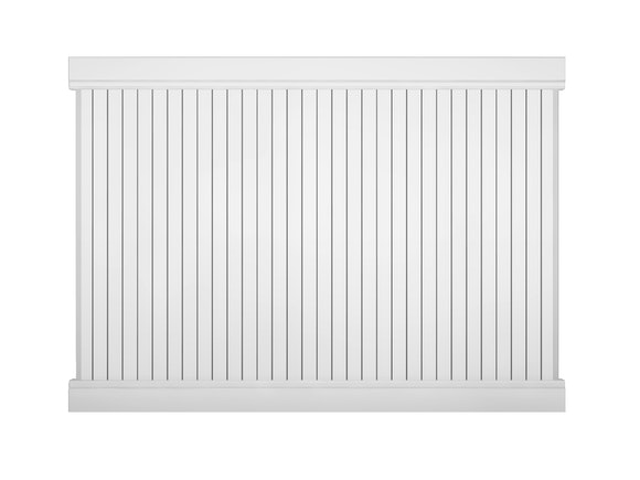 PVC Privacy Fence Panel Kit 1.8m x 2.4m