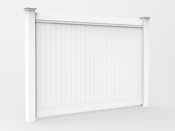PVC Privacy Fence Panel Kit 1.8m x 2.4m