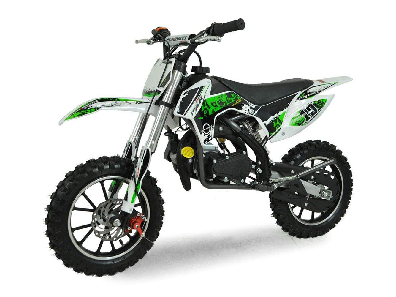 Kids Mini Dirt Bike 49cc Green
