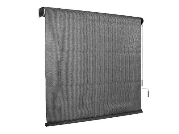 Outdoor Sun Screen Roller Blind 244 x 244cm