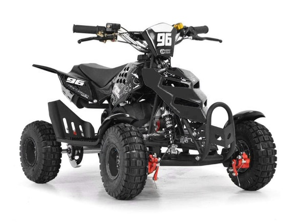 Kids Mini Quad Bike 49cc Black