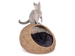 Fetch Wicker Cat Cave