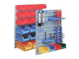 Multifunctional Wall Organiser System