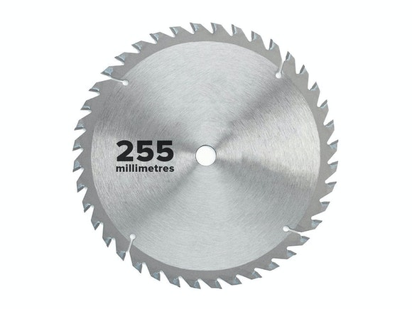 Flash Saw Blade Circular 255mm x 25.4mm