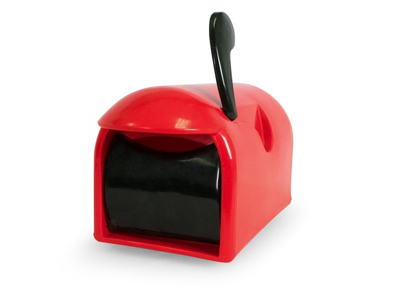 Rural Delivery Letterbox Red