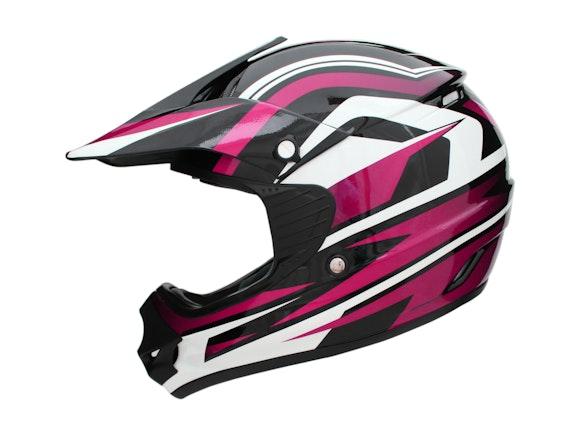 Kid's Motocross Cyber Helmet Pink 57-58cm