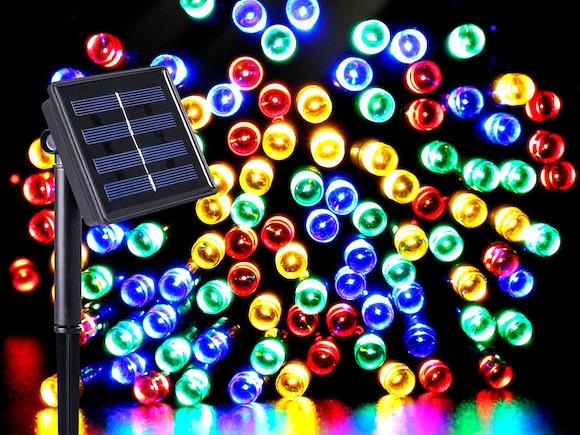 Solar Fairy Lights 200 LED 20m Multi Colour