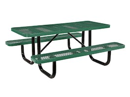 Picnic Table 6 Seater Commercial - Green