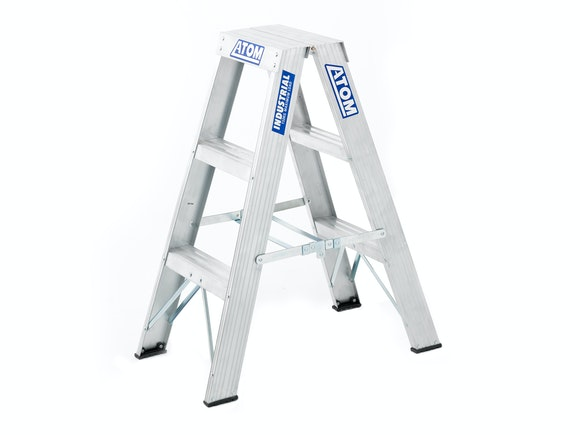 Atom Step Ladder Double Sided 3 Step