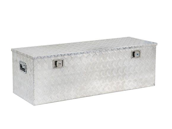 Aluminium Checker Plate Toolbox 1450mm