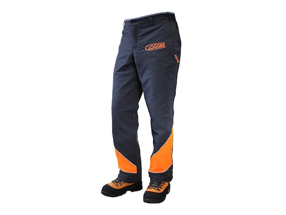 Clogger Chainsaw Chaps Clipped - Large