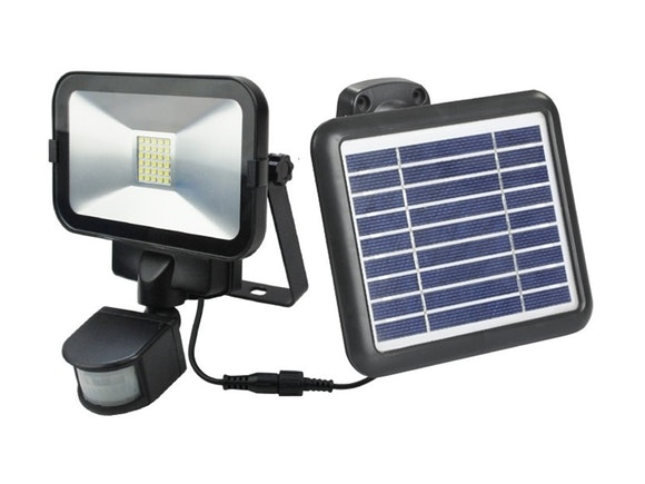 Solar Flood Light PIR 30 LED Li-ion